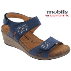 Sandale femme Méphisto Chez www.mephisto-chaussures.fr Mobils WILLOW Bleu nubuck sandale