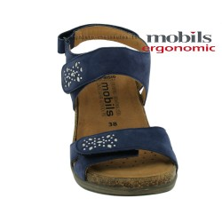 Mobils WILLOW Bleu nubuck sandale
