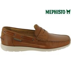 Mephisto GINO Marron clair cuir mocassin