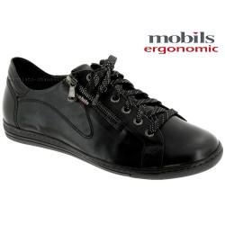 mephisto-chaussures.fr livre à Paris Lyon Marseille Mobils by Mephisto HAWAI Noir cuir lacets_derbies
