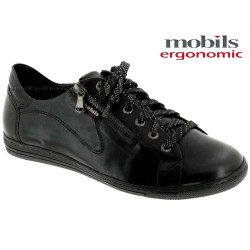 mephisto-chaussures.fr livre à Saint-Martin-Boulogne Mobils by Mephisto HAWAI Noir cuir lacets_derbies