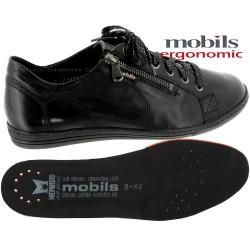 Mobils HAWAI Noir cuir lacets 43021