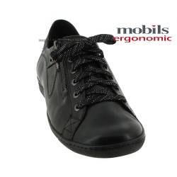 Mobils HAWAI Noir cuir lacets 43022