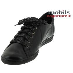 Mobils HAWAI Noir cuir lacets 43023