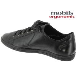 Mobils HAWAI Noir cuir lacets 43025
