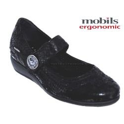 mephisto-chaussures.fr livre à Paris Lyon Marseille Mobils JESSY Noir cuir mary-jane