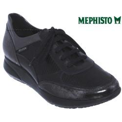 mephisto-chaussures.fr livre à Paris Lyon Marseille Mephisto DIANE Noir cuir lacets