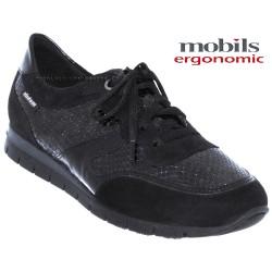 Mobils Kadia Noir cuir lacets