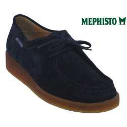 Mephisto Chaussure Mephisto CHRISTY Marine Velours lacets