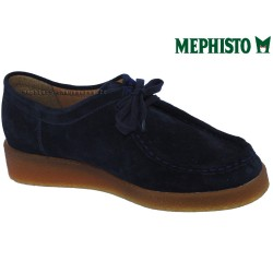 le pecq, CHRISTY, Marine Velours chez www.mephisto-chaussures.fr (43066)
