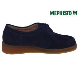 le pecq, CHRISTY, Marine Velours chez www.mephisto-chaussures.fr (43068)