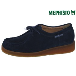 le pecq, CHRISTY, Marine Velours chez www.mephisto-chaussures.fr (43072)