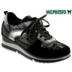 mephisto-chaussures.fr livre à Besançon Mephisto Vicky Noir cuir basket-mode