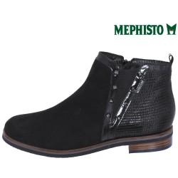 Mephisto Paulita Noir cuir bottine