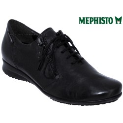 Mephisto lacet femme Chez www.mephisto-chaussures.fr Mephisto Fatima Noir cuir lacets