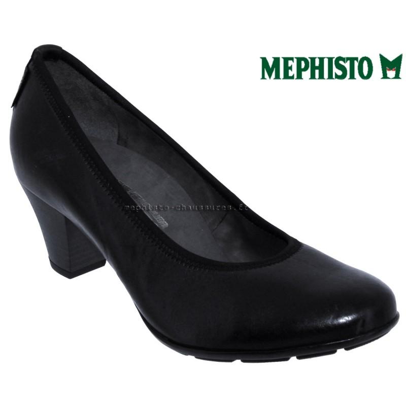 Mephisto Brigita Noir cuir a_talon