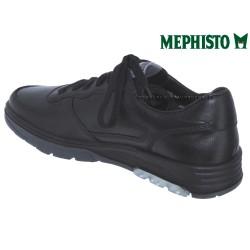 Mephisto Marek Noir cuir lacets