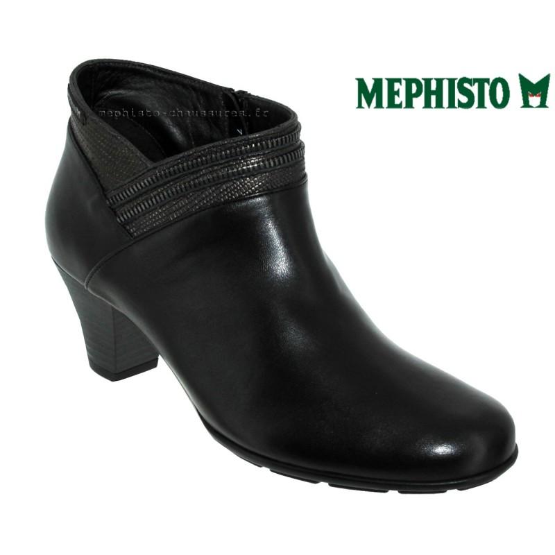 Mephisto Britie Noir cuir bottine