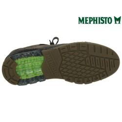 Mephisto Marek Gris velours lacets