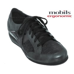 Chaussures femme Mephisto Chez www.mephisto-chaussures.fr Mobils Josefina Gris cuir lacets