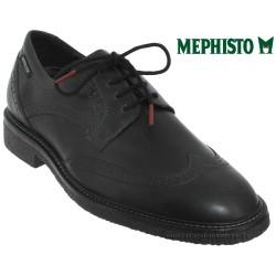 mephisto-chaussures.fr livre à Ploufragan Mephisto Geffray Noir cuir lacets