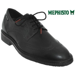 mephisto-chaussures.fr livre à Saint-Martin-Boulogne Mephisto Geffray Noir cuir lacets