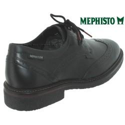 Mephisto Geffray Noir cuir lacets
