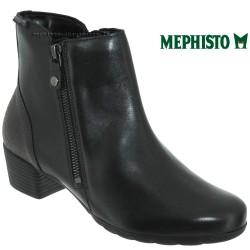 Mode mephisto Mephisto Izia Noir cuir bottine