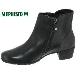 Mephisto Izia Noir cuir bottine