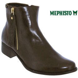 Mephisto Eugenie Marron cuir bottine