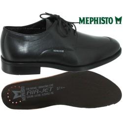 Mephisto Carlo Noir cuir lacets