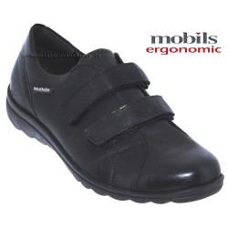 mephisto-chaussures.fr livre à Paris Mobils Christina Noir cuir mocassin