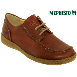 Mephisto Chaussure Mephisto Enrika Marron cuir lacets