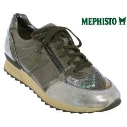 Mephisto Chaussure Mephisto Toscane Taupe cuir basket-mode
