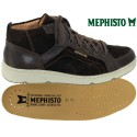 Mephisto Juan Marron cuir/velours lacets