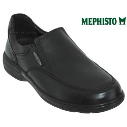 mephisto-chaussures.fr livre à Andernos-les-Bains Mephisto Davy Noir cuir mocassin