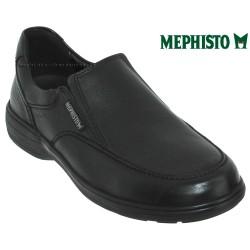 Mode mephisto Mephisto Davy Noir cuir mocassin