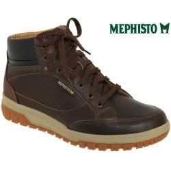 mephisto-chaussures.fr livre à Gravelines Mephisto Paddy Marron cuir bottillon