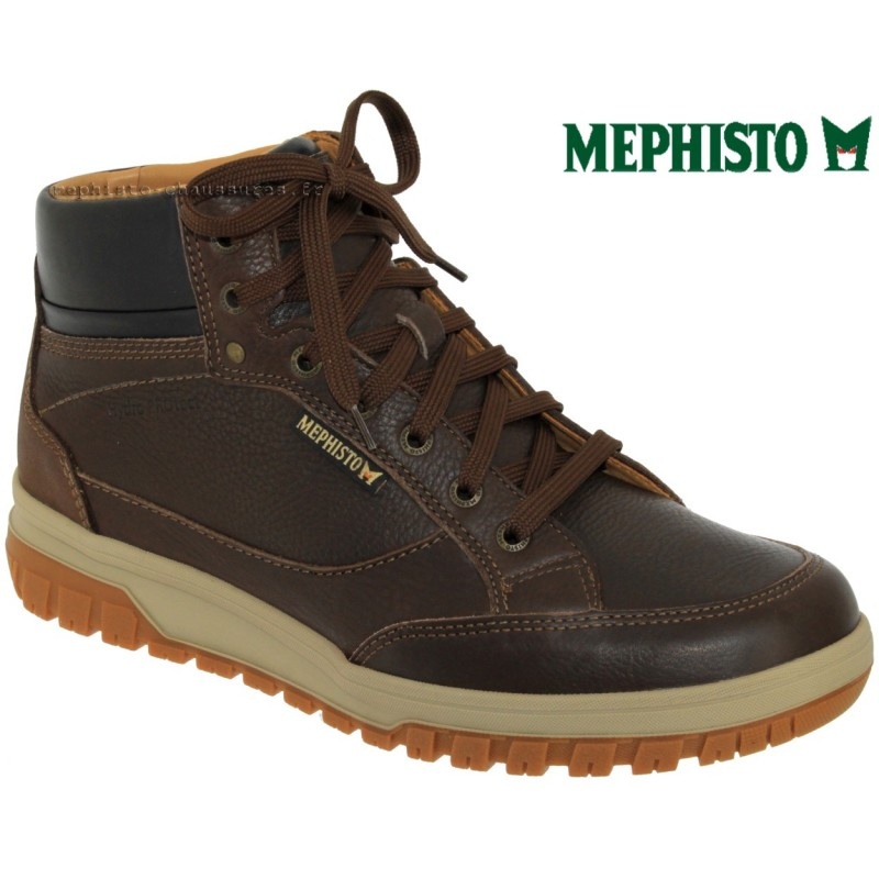 Mephisto Paddy Marron cuir bottillon