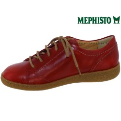 Mephisto Elody Rouge cuir lacets