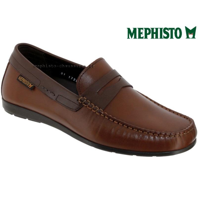 Mephisto ALYON Marron moyen cuir mocassin