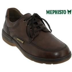 mephisto-chaussures.fr livre à Besançon Mephisto Douk Marron cuir lacets_derbies