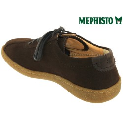 Mephisto Lenni Marron velours lacets