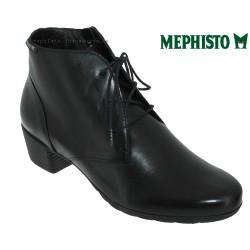 mephisto-chaussures.fr livre à Paris Lyon Marseille Mephisto Isabella Noir cuir bottine