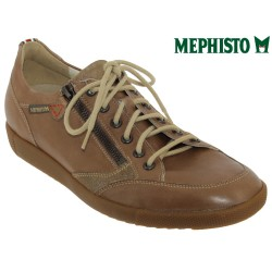 Mephisto Homme: Chez Mephisto pour homme exceptionnel Mephisto UGGO Marron cuir basket-mode