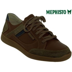 mephisto-chaussures.fr livre à Andernos-les-Bains Mephisto Frank Marron moyen cuir lacets