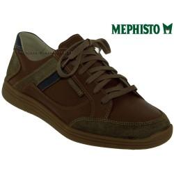 Mephisto Chaussure Mephisto Frank Marron moyen cuir lacets