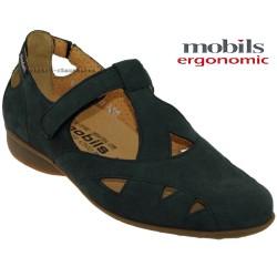 femme mephisto Chez www.mephisto-chaussures.fr Mobils Fantine Marine nubuck ballerine