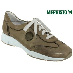 Mephisto YAEL Taupe cuir basket-mode