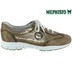 Mephisto YAEL Taupe cuir basket-mode